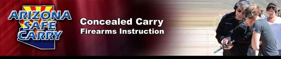 Concealed Weapons (CCW) Permit Course & Firearms Instruction